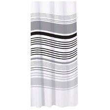 Bathroom Essentials Stripe Shower Curtain