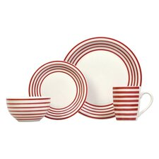 Carnaby 16 Piece Dinner Set