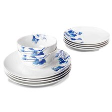 12 Piece Freesia Dinnerware Set