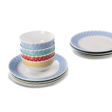 12 Piece Bon Bon Dinnerware Set