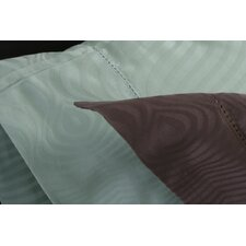 Peacock Pillow Case Set in Silt Green