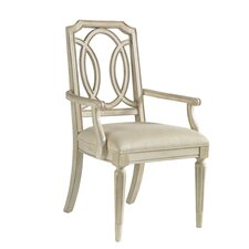 Provenance Arm Chair in Distressed Ivory (Set of 2)