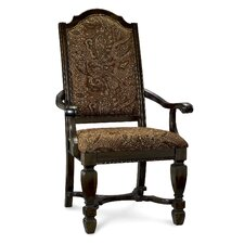 Marbella Upholstered Back Arm Chair (Set of 2)