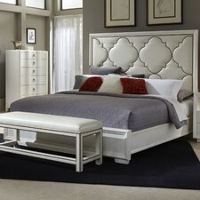 Cosmopolitan Upholstered Panel Bed