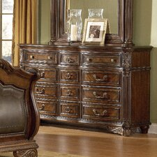 Regal Triple 12 Drawer Dresser