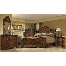 Old World Estate Wingback Bedroom Collection