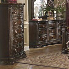 Grand European 5 Drawer Chest