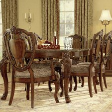 Old World 7 Piece Dining Set