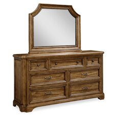 Copper Ridge 7 Drawer Dresser