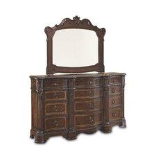 Capri 12 Drawer Combo Dresser
