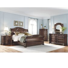 Capri Sleigh Bedroom Collection
