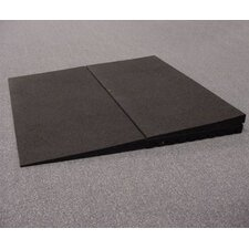 "24"" L x 48"" W Rubber Threshold Ramp Risers"