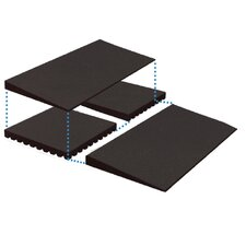 <strong>EZ-ACCESS</strong> Rubber Threshold Ramp Riser Boxed (Set of 2)