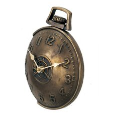 Off The Wall Pocket Watch in Antique Bronze