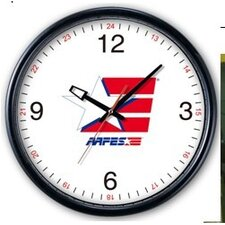 Aafes Wall Clock in Black