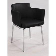 Dusty Club Style Swivel Arm Chair
