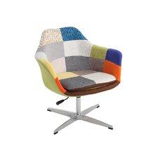 Pneumatic Swivel Leisure Arm Chair