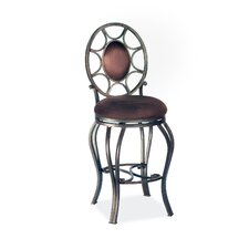 "30"" Swivel Memory Return Bar Stool with Oval Back"