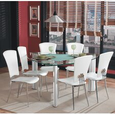 <strong>Chintaly Imports</strong> Tracy 7 Piece Dining Set