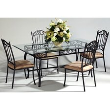 <strong>Chintaly Imports</strong> Rectangular 5 Piece Dining Set