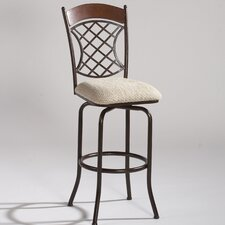 Memory Return Swivel Barstool in Autumn Rust