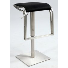 "<strong>Chintaly Imports</strong> 22"" Adjustable Bar Stool with Cushion"
