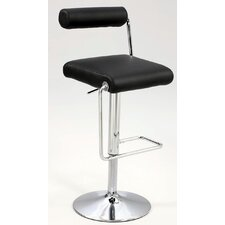 "<strong>Chintaly Imports</strong> 23"" Adjustable Bar Stool with Cushion"