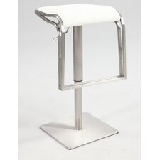 "22"" Adjustable Bar Stool with Cushion"