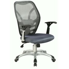 <strong>Chintaly Imports</strong> High-Back Mesh Office Chair
