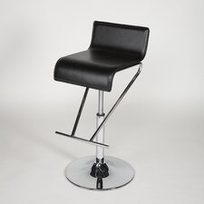 Adjustable Swivel Stool in Black