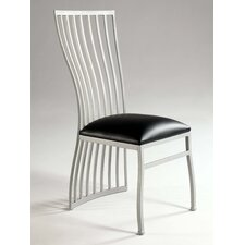 <strong>Chintaly Imports</strong> Aileen Fan Back Side Chair