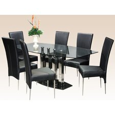 <strong>Chintaly Imports</strong> Cilla 7 Piece Dining Set