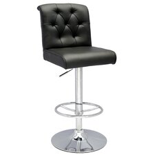 <strong>Chintaly Imports</strong> Pneumatic Gas Adjustable Swivel Bar Stool