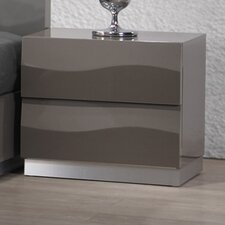 Delhi 2 Drawer Nightstand