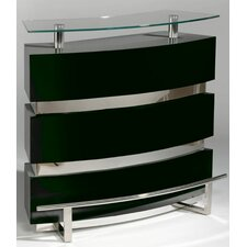 Xenia Black Home Bar Set