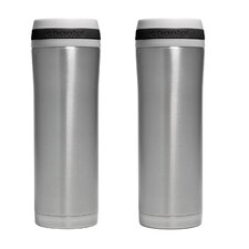 15 oz. Travel Mug with Band (Set of 2)