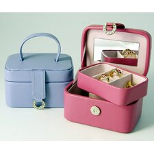 Bold and Spring Ladies Petite Rectangular Jewelry Box in Purple