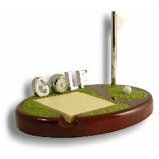 <strong>Budd Leather</strong> Mini Golfers Green in Mahogany