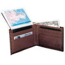 Crocodile Bidente Wallet with Passcase