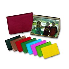 Lizard Print Portable Photo Case