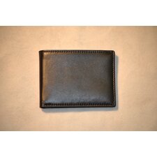 <strong>Budd Leather</strong> Soft Napa Slim Wallet with 8 Slit
