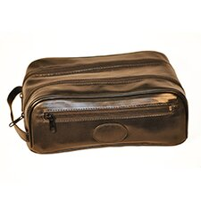 <strong>Budd Leather</strong> Men's Accessories Cowhide Toiletry Bag