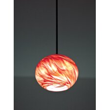 Rose 1 Light Globe Pendant