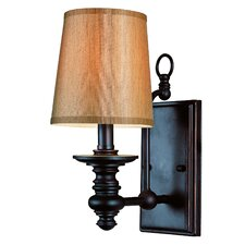 <strong>TransGlobe Lighting</strong> Modern Meets Traditional 1 Light Wall Sconce