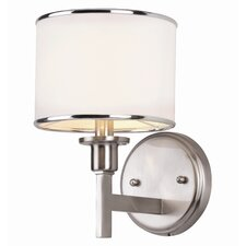 <strong>TransGlobe Lighting</strong> Cadence 1 Light Wall Sconce