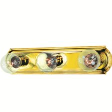 <strong>TransGlobe Lighting</strong> Builder Basic 3 Light Bath Bar