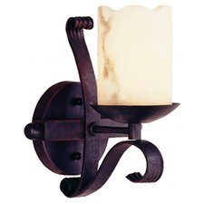 <strong>TransGlobe Lighting</strong> Olde World 1 Light Heavy Iron Wall Sconce