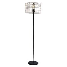 Retro Basket Floor Lamp
