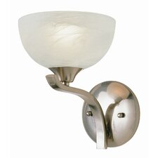 <strong>TransGlobe Lighting</strong> Contemporary 1 Light Wall Sconce