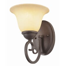 New Century 1 Light Wall Sconce